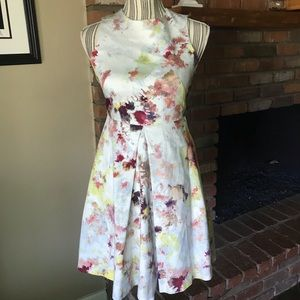 Anthropologie Hunter Bell Kukka Tea Dress Sz 0P
